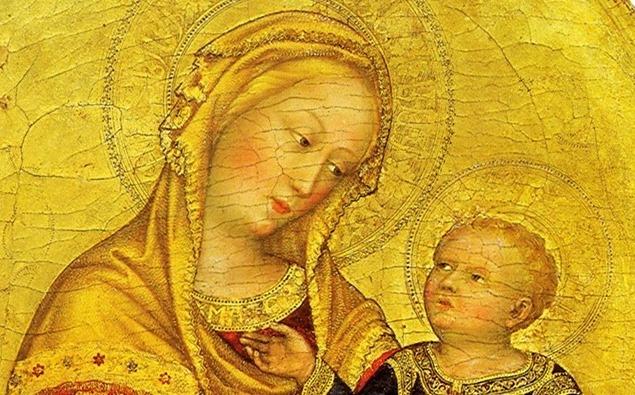 Madonna con niño -  Gentile da fabriano 1420