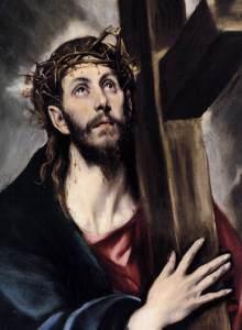 Cristo cargando La Cruz (El Greco)