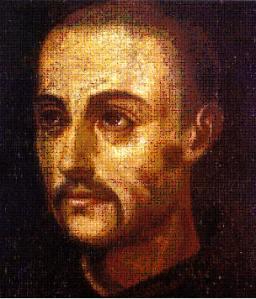 San Juan de Dios - Pedro de Raxis - Considerado el verdadero retrato del Santo que fue pintado el mismo año de su muerte y sirvió de referencia a pintores posteriores