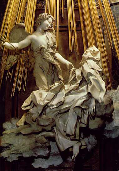 El Extasis de Santa Teresa de Bernini